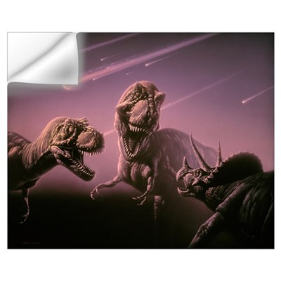 Death of dinosaurs Wall Decal