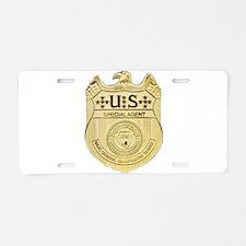 NCIS Special Agent Aluminum License Plate