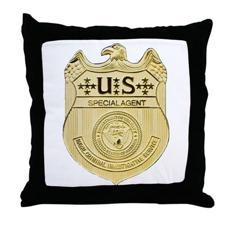 NCIS Special Agent Throw Pillow