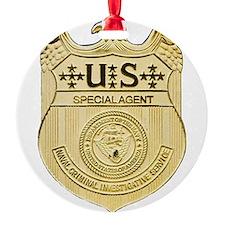 NCIS Special Agent Ornament