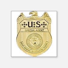"""NCIS Special Agent Square Sticker 3"""" x 3"""""""