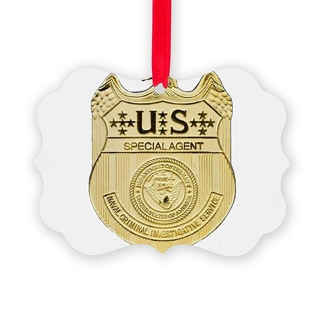 NCIS Special Agent Picture Ornament