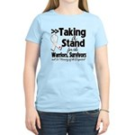Taking a Stand Mesothelioma Women's Light T-Shirt