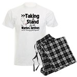 Taking a Stand Mesothelioma Men's Light Pajamas