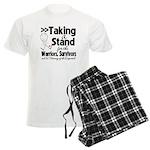 Taking a Stand Mesothelioma Men's Light Pajamas