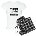 Taking a Stand Mesothelioma Women's Light Pajamas
