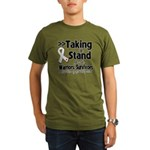 Taking a Stand Mesothelioma Organic Men's T-Shirt