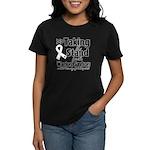 Taking a Stand Mesothelioma Women's Dark T-Shirt