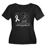 Taking a Stand Mesothelioma Women's Plus Size Scoo