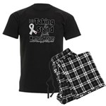 Taking a Stand Mesothelioma Men's Dark Pajamas