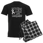 Taking a Stand Mesothelioma Men's Dark Pajamas