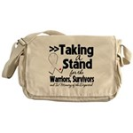 Taking a Stand Mesothelioma Messenger Bag