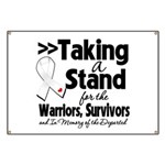 Taking a Stand Mesothelioma Banner