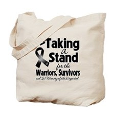 Taking a Stand Melanoma Tote Bag