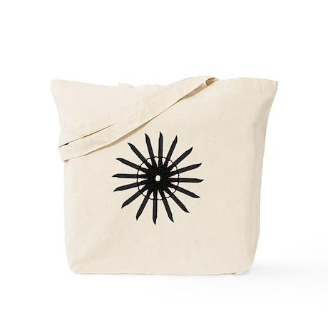 Combat Knife Sun Tote Bag