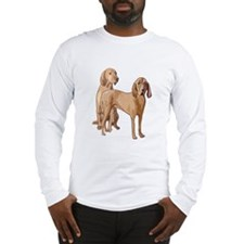 two redbone coonhounds Long Sleeve T-Shirt