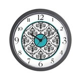 Teal wall clocks Basic Clocks