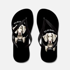 Weimaraner IAAM Flip Flops