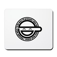 Laughing Man Mousepad