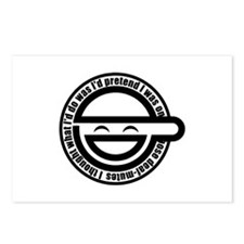 Laughing Man Postcards (Package of 8)