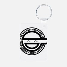 Laughing Man Keychains