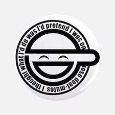 "Laughing Man 3.5"" Button"