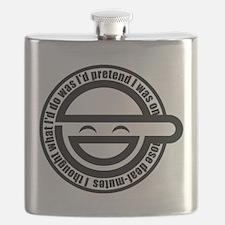 Laughing Man Flask