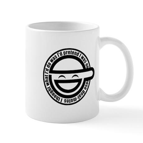 Laughing Man Mug