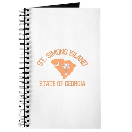 St. Simons GA - Map Design. Journal