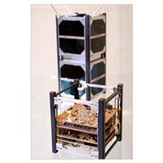 Cubesat satellite Poster