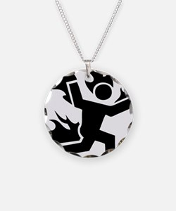 Man on Fire Necklace