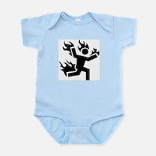 Man on Fire Infant Bodysuit