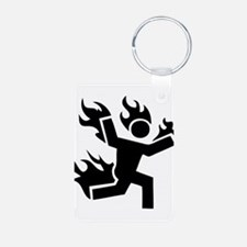 Man on Fire Keychains