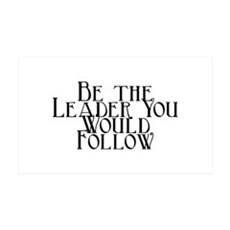 Be the Leader -- Wall Decal