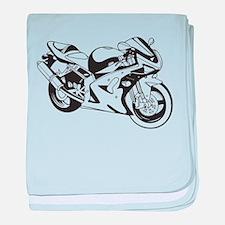 Bike baby blanket