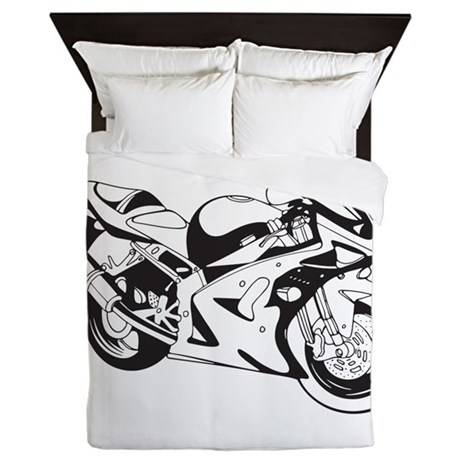 Bike Queen Duvet