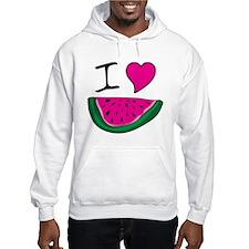 I Love Watermelon Hoodie