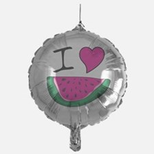 I Love Watermelon Balloon