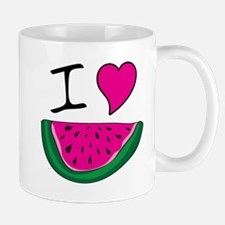 I Love Watermelon Mug