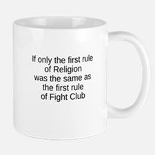 fight club religion Mugs