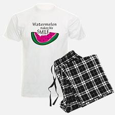 Watermelon Makes Me Smile Pajamas