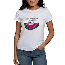 Watermelon Makes Me Smile Tee