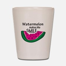 Watermelon Makes Me Smile Shot Glass