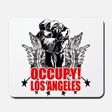 Occupy Los Angeles Mousepad
