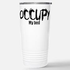 Occupy My Bed Travel Mug