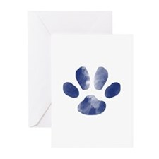 Moonlight Paw I Greeting Cards