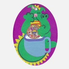 Dustin Dragon Ornament (Oval)