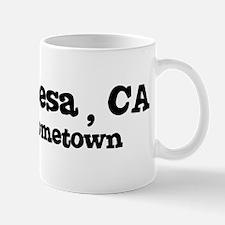Costa Mesa - hometown Mug