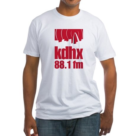 KDHX Fitted T-Shirt