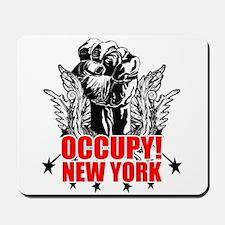 Occupy New York Mousepad